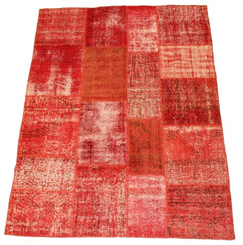 Patchwork Carpet - patchwork vintage carpet 230 x 170 cm
