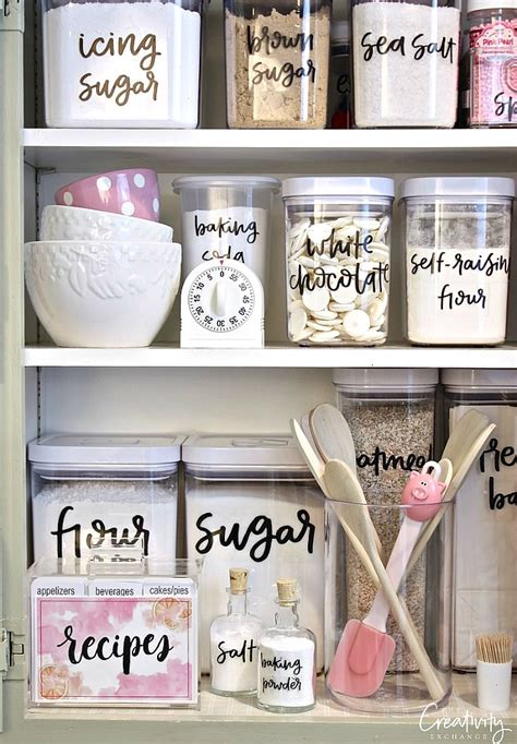 Pantry Shelf Labels by Free Organization Printables Clean And Scentsible