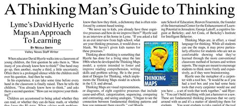david hyerle thinking maps templates critical thinking newspaper article south florida