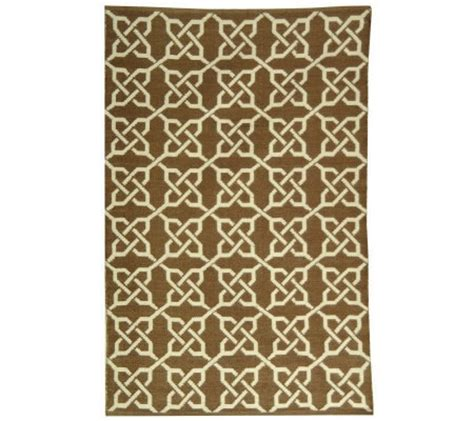 Recycled Plastic Outdoor Rugs Thom Filicia 4 X 6 Tioga Recycled Plastic Outdoor Rug H186472 Qvc