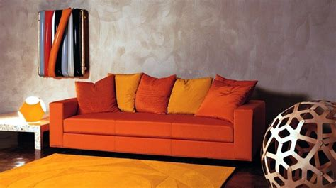 Orange Sofa Decorating Ideas by 26 Best Images About Orange Sofa On Orange