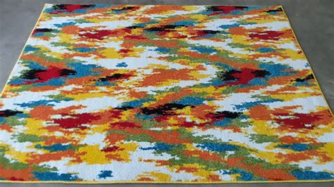 Rugs Area Rugs Carpet Flooring Area Rug Floor Decor Modern Colorful Rug