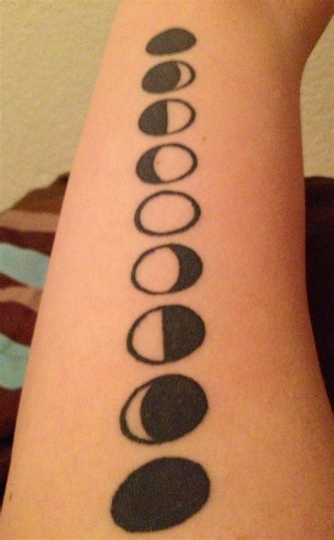 bound by design tattoo 41 best images about phases on moon phase