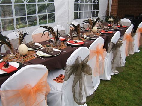 Safari Style Home Decor african themed summer party in the garden tropical london