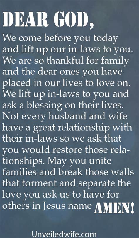 prayer   day inlaws