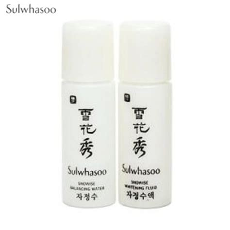 box korea mini sulwhasoo snowise ex whitening