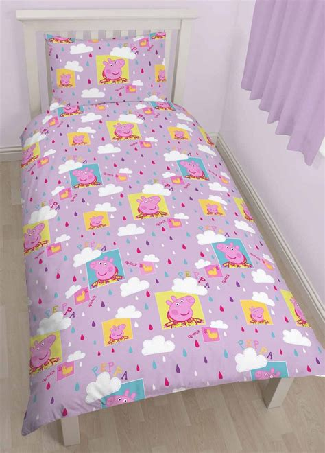 peppa pig comforter set wholesale bulk peppa pig puddles single duvet cover