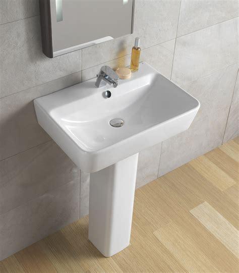 Restroom Sinks by 22 Quot Ceramic Bathroom Pedestal Sink 2 Sinks Gallery