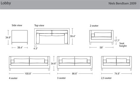 standard furniture dimensions metric size of sofa thesofa