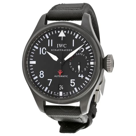 best iwc iwc big pilot top gun black automatic power reserve