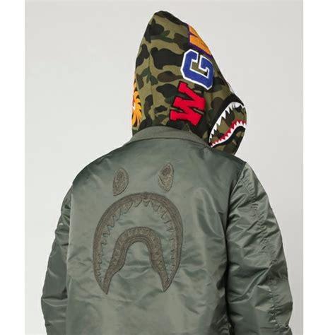 Bape Shark Custom Casing Xiaomi Samsung Dll bape shark hoodie ma 1 jacket s fashion clothes on carousell