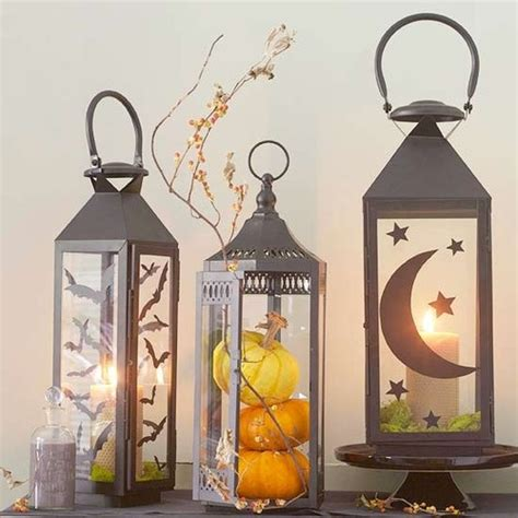 How To Decorate A Lantern by 59 Fall Lanterns For Outdoor And Indoor D 233 Cor Digsdigs