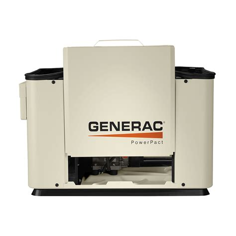 generac powerpact 7kw air cooled standby generator at