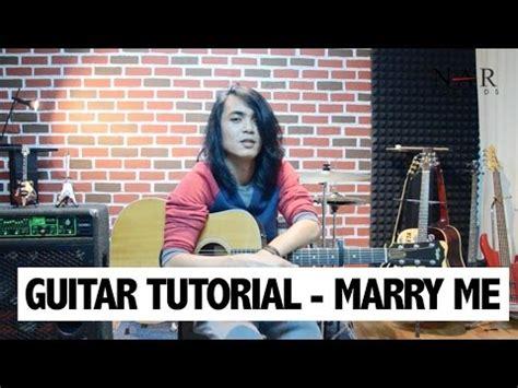 tutorial watch me guitar tutorial marry me youtube