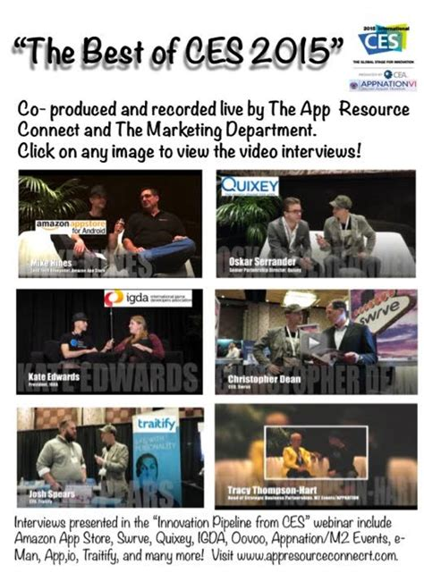 best ces the best of ces 2016 to be produced by appresource