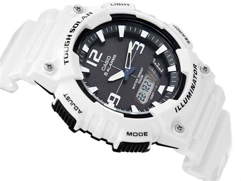 Casio Aq S810wc 3ad zegarek męski casio tough solar aq s810wc 7a alletime