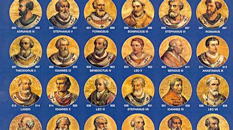 I Papa sommi pontefici tutti i papi della storia