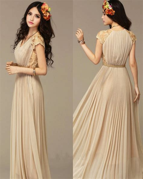 hair styles with maxi type dresses party wear long maxi style dresses 7 outfit4girls com