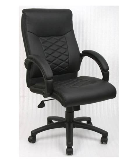 nilkamal majestic executive office chair black buy