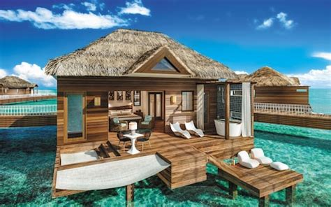 sandals south coast opens booking on overwater bungalows sandals royal caribbean inside the region s first over