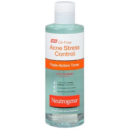 Toner Acne Treatment neutrogena free acne stress toner 8 fl oz fsastore