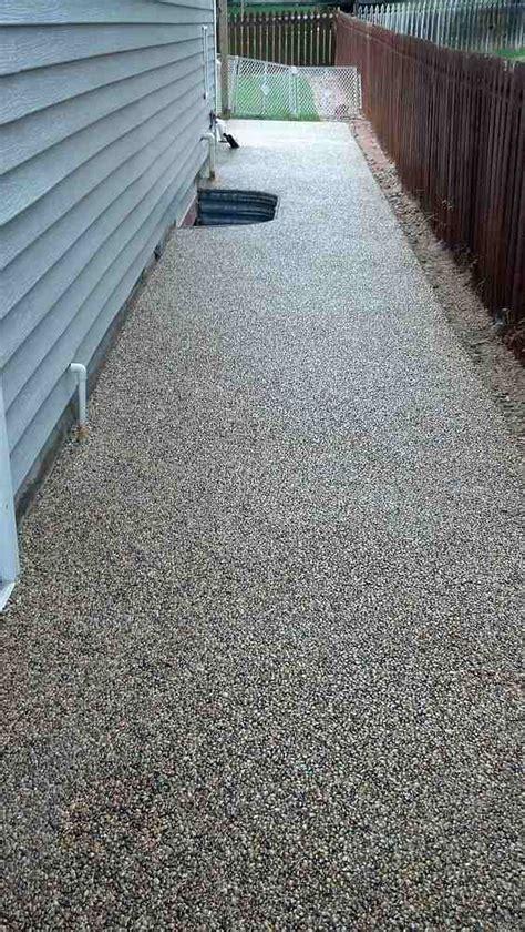 pebble floor deck epoxy    repair recoat reseal