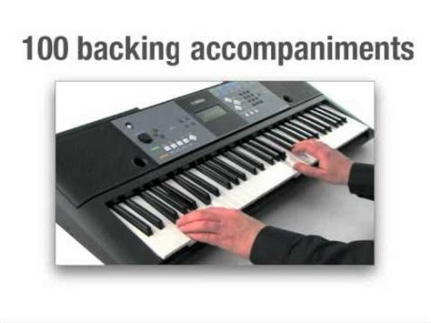 Second Keyboard Yamaha Psr E233 yamaha psr e233 portable keyboard demo