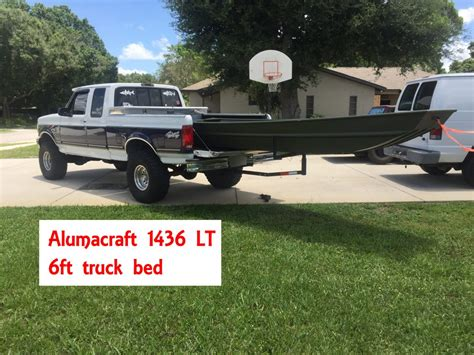 jon boat 2017 guide alumacraft or tracker jtgatoring - Jon Boat In Truck Bed