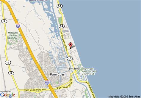 map of palm coast florida map of lodge at hammock palm coast