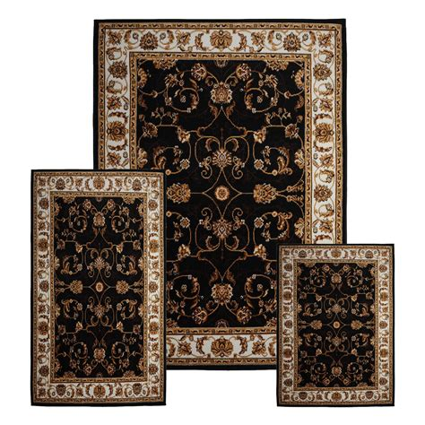 3 area rugs traditional medallion 3 pcs area rug