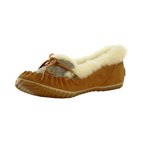 sorel womens slippers sorel womens slipper out n about elk fawn