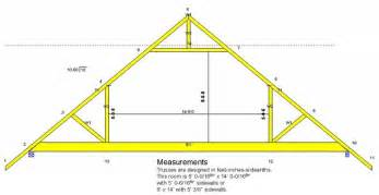 Truss Builder by Attic Truss Building Diagrams Attic Truss Attic And Construction