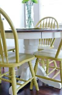 How To Paint Kitchen Table And Chairs Best 20 Paint Kitchen Tables Ideas On Redoing Kitchen Tables Painting Kitchen