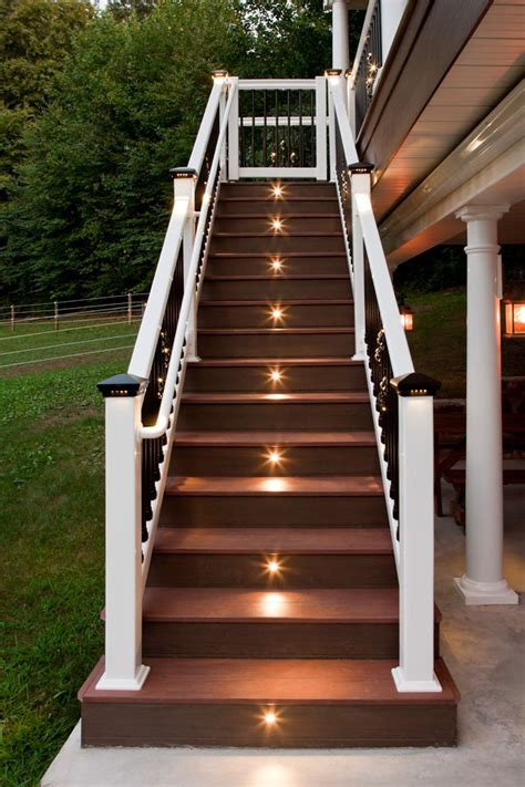 outdoor led deck lighting deck lighting by dekor deck lighting kits for
