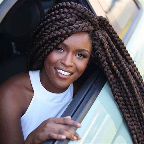 2 jumbo braids hairstyles 50 trendy jumbo box braids to make an impression