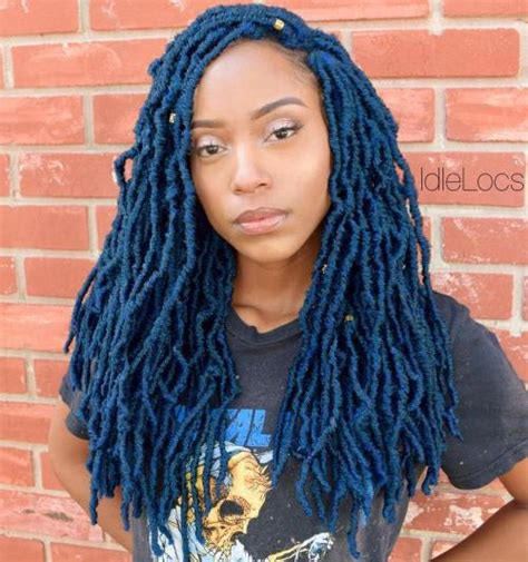 coloured faux locs 40 fabulous funky ways to pull off faux locs