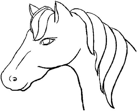 free coloring book pages of horses coloring pages free large images