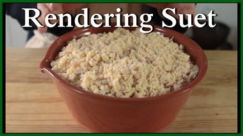 suet rendering and uses homestead focus
