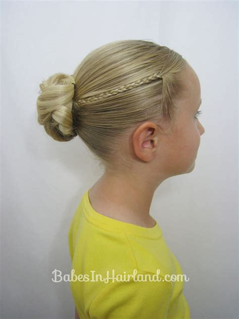micro braid hairstyles bun knotted bun micro braids back to school hair babes