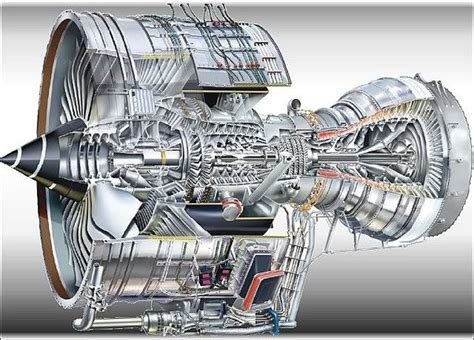 Jet Engine Cross Section by What Does The Cross Section Of An Aircraft S Jet Engine