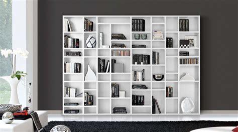 librerie basse moderne libreria componibile moderna a scaffali easy