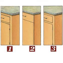 All About Kitchen Cabinets door and drawer mounting options all about kitchen