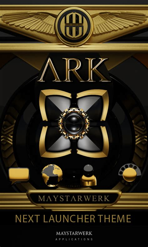 next launcher themes com next launcher theme ark android apps on google play