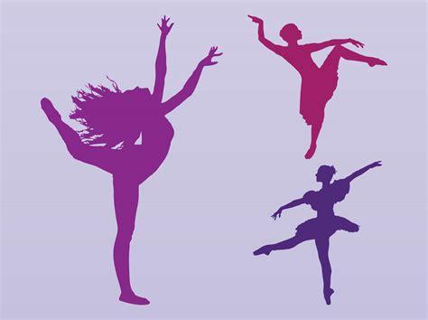 dance girl dance 200 free vector dancing girls silhouettes