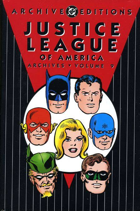 justice league hc vol 1401263410 justice league of america archives vol 9 hc discount comic book service