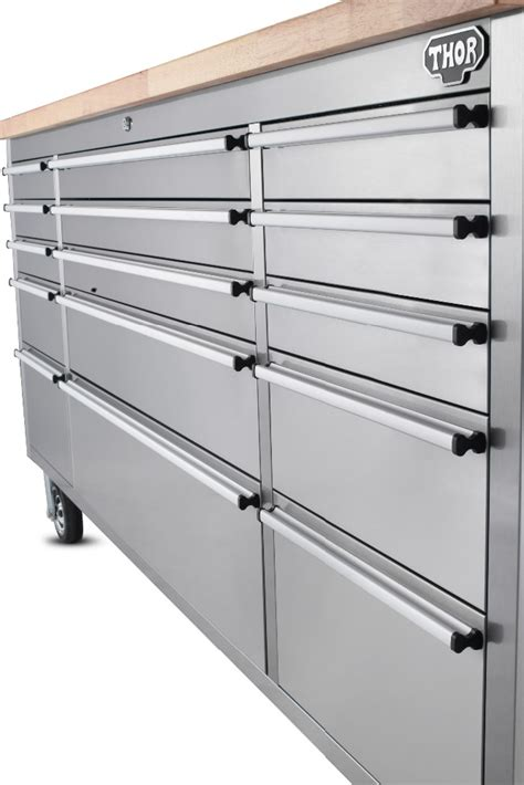 Stainless Steel Workbench With Drawers by 430 Stainless Steel 72 Inch Rubber Wood Workbench Of Csa