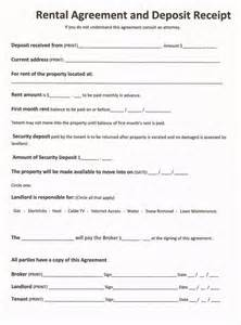 Tenant Lease Agreement Template free rental forms to print free and printable rental
