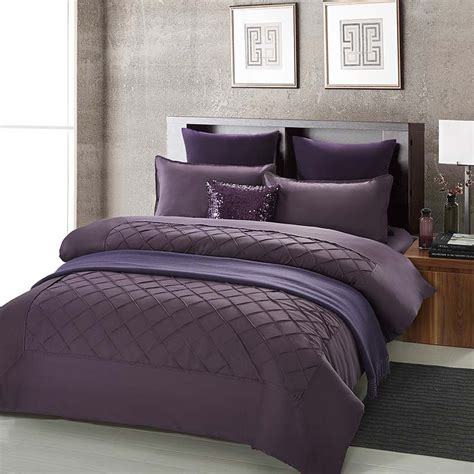 cheap bed comforters online get cheap purple bedding sets aliexpress com