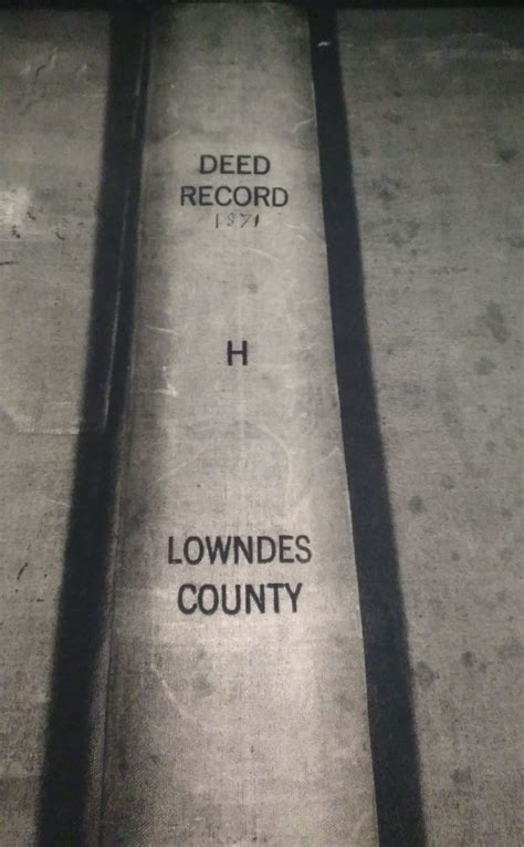 Lowndes County Property Records Finding Eliza