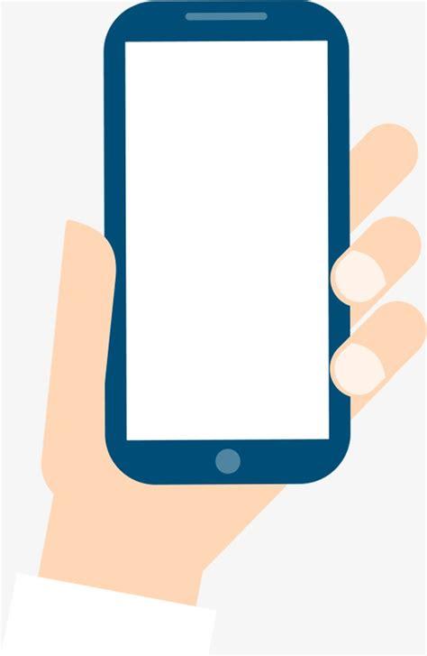 wallpaper cartoon handphone hand phone cartoon hand phone blue phone finger png